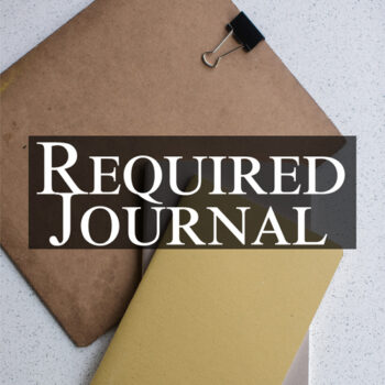 Required-Journal